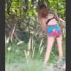 【動画】異常な行動をする薬物中毒の女性。