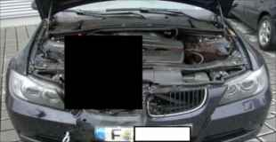 【閲覧注意】動物と衝突した車のボンネットを開けてみたら・・・(4枚)