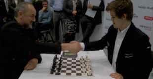 【動画】一手一手が速すぎるチェス対決www