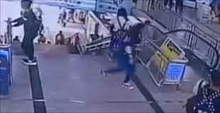 【動画】やっぱりまだあった、中国の殺人エスカレーター