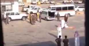 【動画】まさに一刀両断!サウジアラビアでの斬首動画