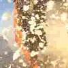 溶岩が海に流れ出すところを撮影した動画。