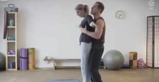 【動画】ヨガ教室で巨乳美女にエッチな個人レッスンした結果wwwww
