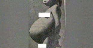 近親相姦? 5歳で赤ちゃんを出産した女の子の画像・・・