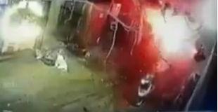 【衝撃】40人以上を殺したISISの自爆テロの瞬間の映像…
