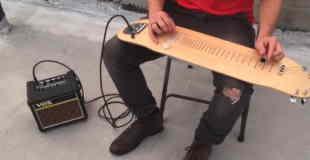 【動画】スケボーとギターの最高のコラボをご覧くださいw