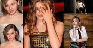 あんなに可愛かった「クロエ・モレッツ(18)」が売春婦みたいになってる・・・(画像)