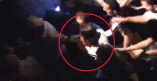 ドイツで1月1日に起きた数百人の女性がレ●プされる事件、その中の1人の映像がこれ・・・