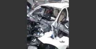 【閲覧注意】自動車に仕掛けられた爆弾で足が吹き飛んでしまったギャング。(動画、画像)