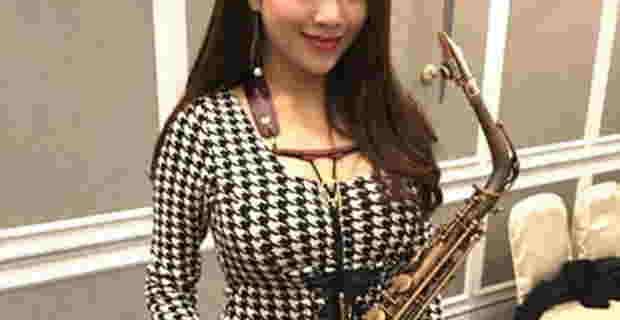 台湾の巨乳サックス奏者がエロかわいい(画像・動画)