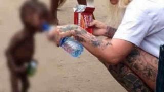 """ナイジェリアで """"魔女"""" が産んだ、ありえない姿をした子供の写真"""