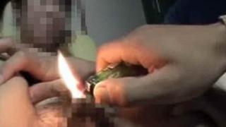 【浮気復讐】浮気したビッチ妻のマ○コを火炙りにしたったwww ※動画有り