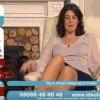 【パンチラ注意】テレビ通販で偶然に映った熟女女性司会者のパンチラ動画www
