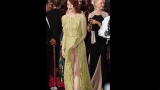 【エロ注意】ノーパン?!ハリウッド女優『エマ・ストーン』の目を疑うヌーディなパンティwww