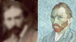 ゴッホの「実際の写真」が発見される。自画像と比べてみると・・・