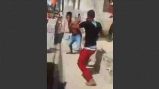 【閲覧注意】マチェーテでメッタ切りにされながら逃走する泥棒が悲惨なほど流血…。