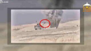 【動画】IED(即席爆発装置)の解除を失敗、爆発して人が吹っ飛ぶ…。