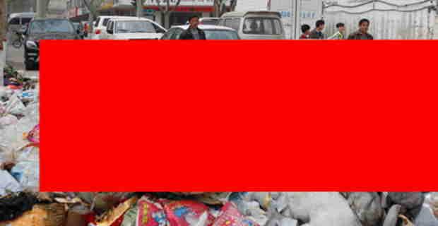 【中国】ゴミ集積所の入り口に迷惑駐車した結果・・・