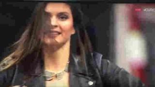 【エロ注意】バスケットボールの試合のハーフタイムショーで巨乳美女が乳首ポロリしちゃってる動画wwwww