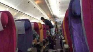飛行機で真面目にシートベルトしてるやつ、これ見ろ…