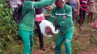 【超閲覧注意】カルト的な儀式で肝臓を食べるためにバラバラにされた遺体の回収現場…。