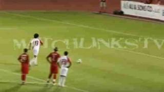 【衝撃動画】アラブ首長国連邦(UAE)の選手が見せた常識を覆すPKwww
