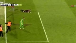 【衝撃動画】サッカーの試合で審判がボコられる。