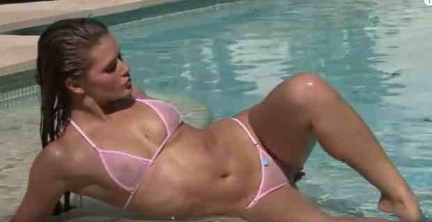 【エロ注意】全裸よりエロい透け透け極小のマイクロビキニの動画まとめwww1