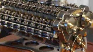【衝撃動画】世界最小のW32気筒エンジンが精巧すぎてヤバイwww