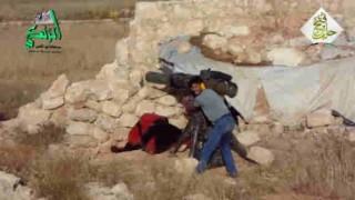 【動画】笑顔でTOW(対戦車ミサイル)をぶっ放すシリアの民兵。