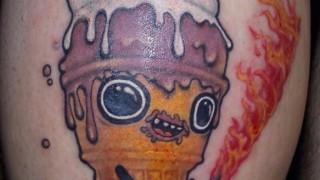 【閲覧注意】タトゥー入れたらヤバい事になった・・・(画像)