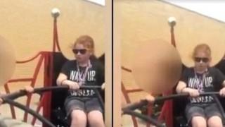 """【閲覧注意】11歳の女の子、""""乗ってはいけない"""" アトラクションに乗った結果・・・"""