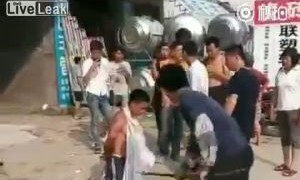 中国で自転車泥棒には容赦なし!!【動画1本・画像11枚】