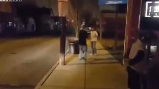 【動画】格闘家がチンピラと路上でストリートファイトした結果w