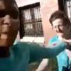【衝撃動画】おばあさんにスタンガン押し付けまくるクレイジーな女。