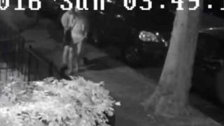 【犯罪動画】監視カメラにレイプする瞬間が映っていた…。