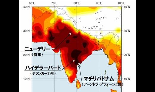 【衝撃】気温50度超えて道路が溶け出してるインドの街を歩くとどうなるか試してみたw