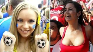 乳首まで見せてくれる海外サッカーの女子サポーターエロすぎだろ・・・(画像)