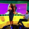 【エロ注意】テレビ番組でヒップダンス披露しようとしたらスカートが裂けてTバックがwwwww