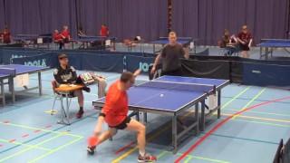 【衝撃動画】卓球の試合で意表をついたスゴイショットが放たれるwww