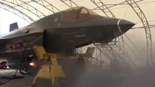 【衝撃動画】戦闘機『F-35B』のガンポットのテスト射撃の動画。