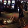 【動画】ラスベガスの『The LINQ(ザ・リンク)』というホテルのカジノでボコられるボディコン美女。