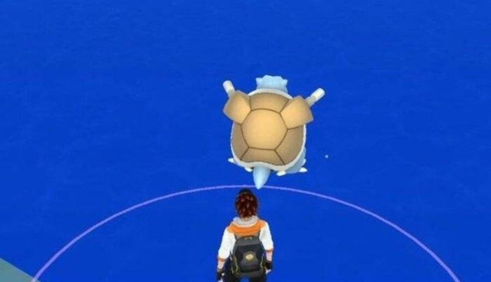 「ポケモンGO」でカメックスが海の中に出現した結果・・・(画像)