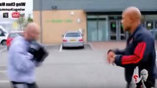 【動画】カンフーの達人とボクサーの対決デモンストレーション動画w