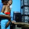 【エロ注意】客がこないときはいちゃつき完全にセックスしてる店番中のカップル?の動画w