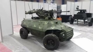 【衝撃動画】すでに実用化されているイラク製の無人戦車。
