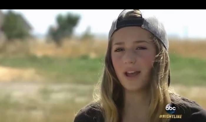 12歳の女の子がSNSにアップした画像に批判が殺到。こんな可愛い子が…(3枚)
