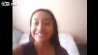 【キチガイ動画】可愛い顔して子犬をブン投げまくって笑ってる女の子。