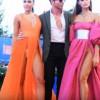 【エロ注意】ノーパンか!?ベネチア映画祭で超エロいドレスを着たモデル『ダヤネ・メロ』『ジュリア・サレーミ』※動画2本