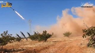 【動画】ミサイル発射から着弾先をドローンで撮影した動画。